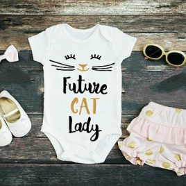 Future Cat Lady // Onesie or Toddler Tee