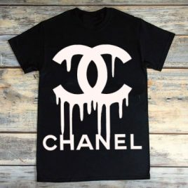 Dripping Chanel InspiredT shirt… Adult Size