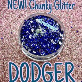 NEW! DODGER chunky glitter