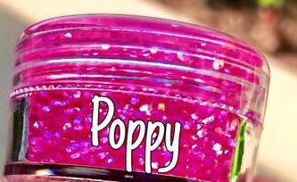NEW ! Poppy Glitter