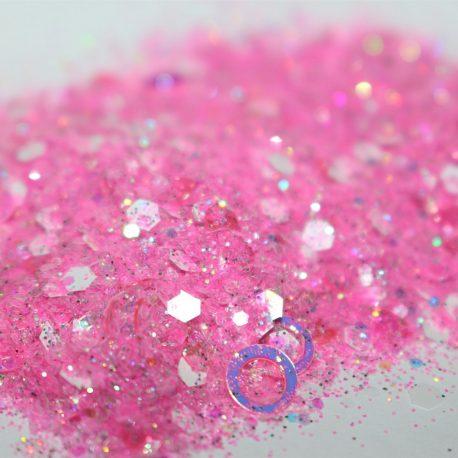 Pink Hoops
