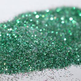 GREEN IVY fine glitter