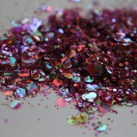 Seductive RED Vday glitter