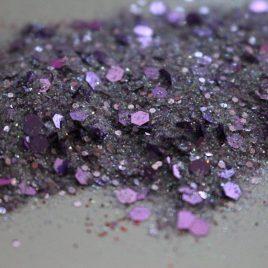 Lovely Lilac Vday glitter