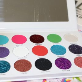 "ALICE palette, "" We're all mad here!"""