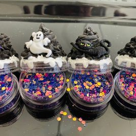 HALLOWEEN limited edition glitter cupcake