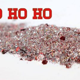 HO HO HO Glitter